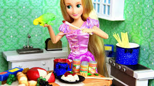 my froggy stuff let u0027s eat how to make doll food pasta with all