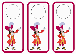 jake and the never land pirates door hangers u2013 birthday printable