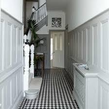 white hallway with panelling white hallway panelling and hallways