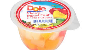 dole fruit bowls new cherry mixed fruit variety added to dole fruit bowls in 100