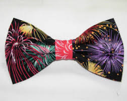 new years bow tie new year party tie etsy