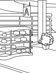 store coloring pages funycoloring