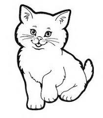imágenes de gatos fáciles para dibujar dibujos de gatos tiernos para pintar y colorear imagui dibujos