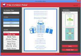 invitation maker app free invitation maker