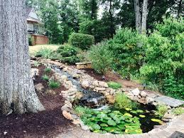 water features richmond va garden pond installation waterfall