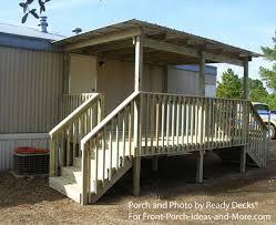 porch blueprints build a porch on a mobile home search house