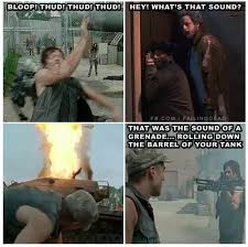 Daryl Dixon Meme - failing dead joke memes for the walking dead and other zombie