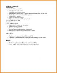 Sample Format Of A Resume by Good Job Resume Samples Good Job Resume Examples Resume Format