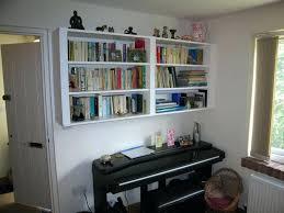 Home Office Bookshelf Ideas Bookcase Best 10 Hanging Bookshelves Ideas On Pinterest Shelves