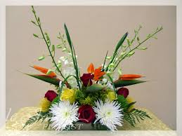 tropical flower arrangements tropicana flower arrangement le jardin florist