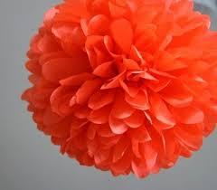 Fabuloso Pompom de papel seda #DU73