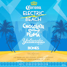 corona electric beach featuring chocolate puma u0026 yolanda be