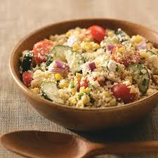 summer garden couscous salad recipe taste of home