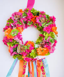 Halloween Wreaths For Sale Fiesta Wreath Design Improvised