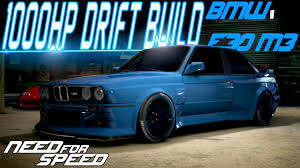 Bmw M3 Old - need for speed 2015 1000hp bmw e30 m3 customization u0026 drift