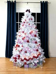 lowes artificial christmas trees with lights white artificial christmas trees with led lights lowes tree pink