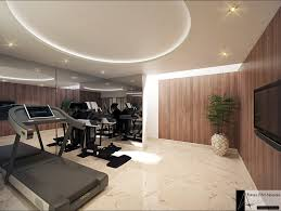 best home gyms home gym contemporary with walnut wood interior