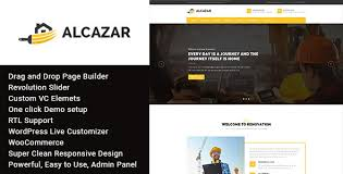 renovation theme alcazar v1 1 construction renovation building free wordpress