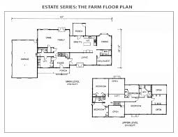 farm home floor plans the farm log home floor plan from international homes of cedar