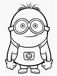 kids under 7 despicable me coloring pages with despicable me