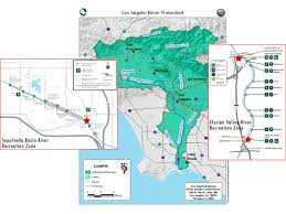 Study Of Maps Water Quality Study Of L A River Rec Zones Heal The Bay