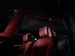 rolls royce ghost interior lights the rolls royce motor cars phantom zenith collection