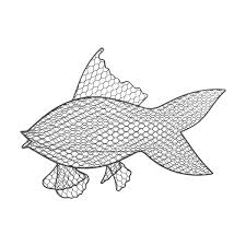 wire fish wall decor interiordecorating