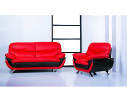 Red Loveseat Jonus Red Black Sofa Loveseat