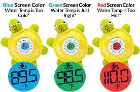 bathtub thermometer floating amazon com ozeri turtlemeter the baby bath floating turtle toy