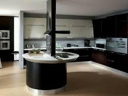 modern unique black round table kitchen cabinets models kitchen