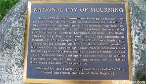 plaque commemorating the national day of mourning see all about