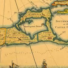 Bermuda Triangle Map Bermuda Map Usa Bermuda Is A British Overseas Territory In The