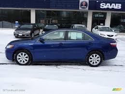 Blue Ash Color by 2007 Blue Ribbon Metallic Toyota Camry Hybrid 25891262 Gtcarlot