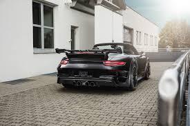 porsche 911 convertible 2018 techart gtstreet r cabriolet is a new spin on a porsche 911 turbo