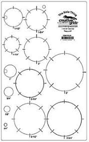 1 Inch Circle Template by Creative Grids Specialty Rulers Angle Finder Circles 4 N 1