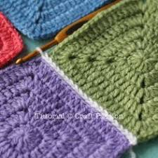 how to join crochet squares completely flat zipper method 5 different ways to join crochet squares bookmark learning curve