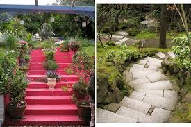 landscaping ideas garden stairs interiorholic com