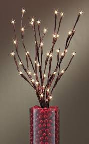 christmas branches with lights lighted branches home decor home decorating ideas