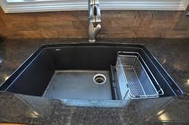 Granite Single Bowl Kitchen Sink Kitchen Sinks Farmhouse Composite Granite Sink Corner Polished