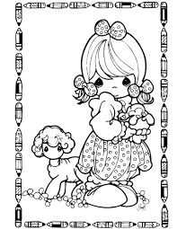 precious moments 7 coloringcolor com