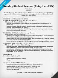 example of nursing resume nursing resume sample writing guide
