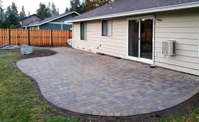 Backyard Paver Patios Outdoor Backyard Fencing Luxury Paver Patio Ajb Landscaping Fence