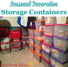 Decoration Storage Containers Storage Containers Festive Way To Hold Your