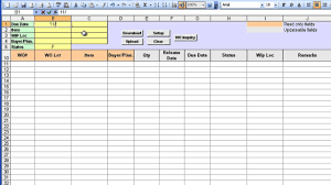 Tracking Spreadsheet Template Excel Free Tracking Spreadsheet Template Excel Laobingkaisuo Com