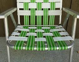 Aluminum Web Lawn Chairs Lawn Chair Etsy