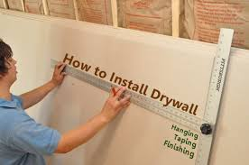 How To Sheetrock A Ceiling by How To Install Drywall With 75 Pics Hanging Taping Finishing