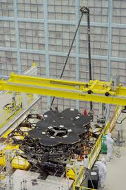 webb backplane arrives at nasa goddard for mirror assembly