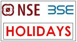 Market Holidays Nse Bse Holidays 2013 List India Stock Exchange Stock Market