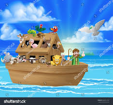 cartoon childrens illustration christian bible story stock