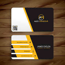 card business card template for illustrator